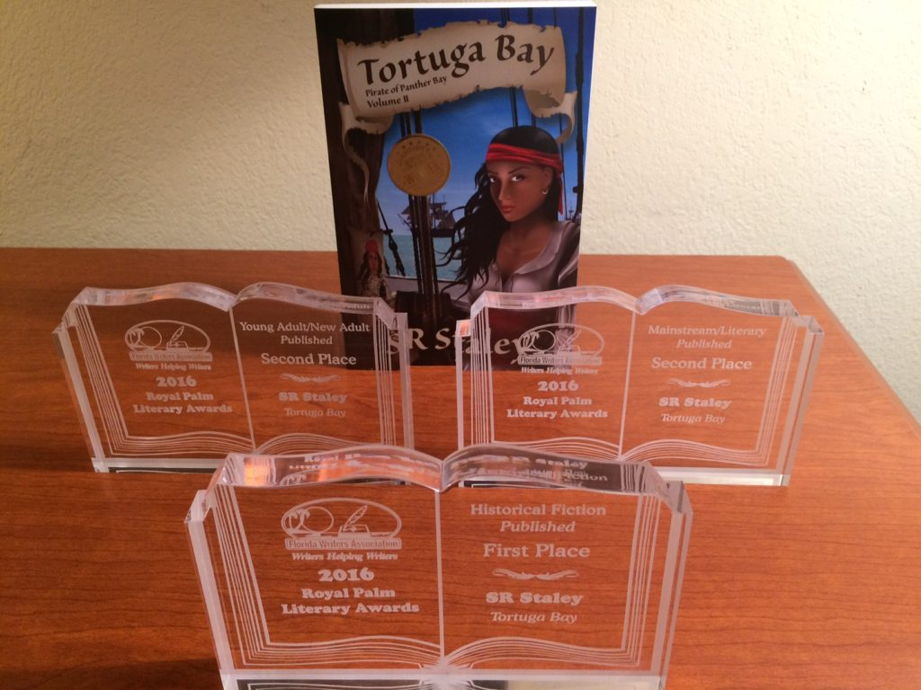 Tortuga Bay takes home three awards in 2016 Royal Palm Literary Award competition.
